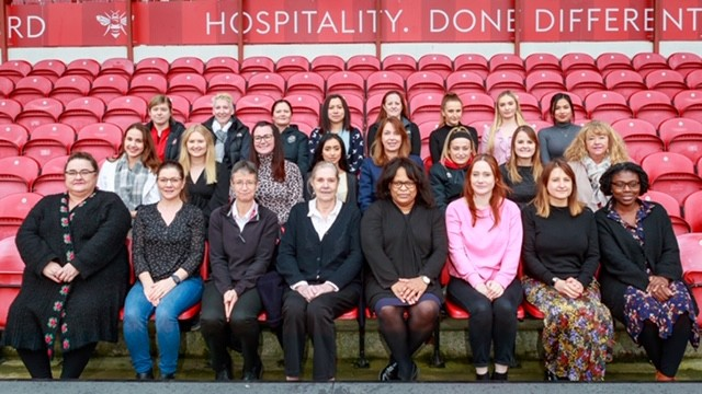 Brentford FC showcase their female workforce to celebrate International Women's Day