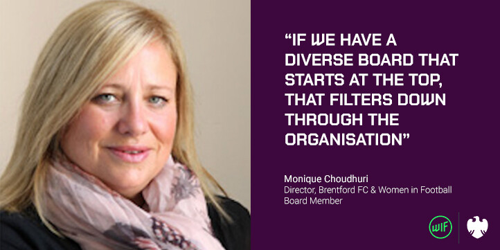 Monique Choudhuri welcomes Brentford FC board opening as opportunity to increase diversity