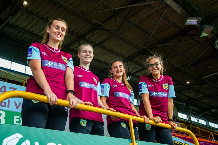 Burnley FC outlines long-term intention to professionalise women's football