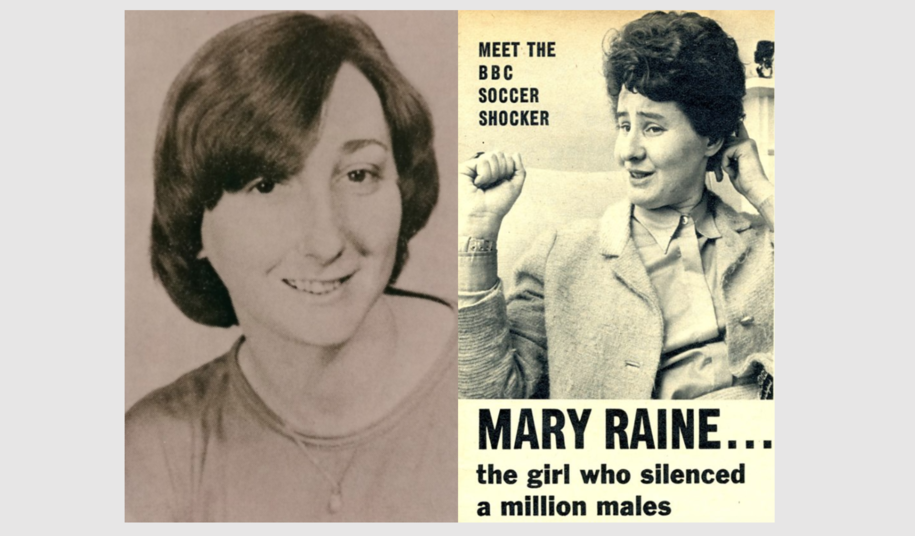 Female Football Pioneers: Mary Raine and Patricia Gregory