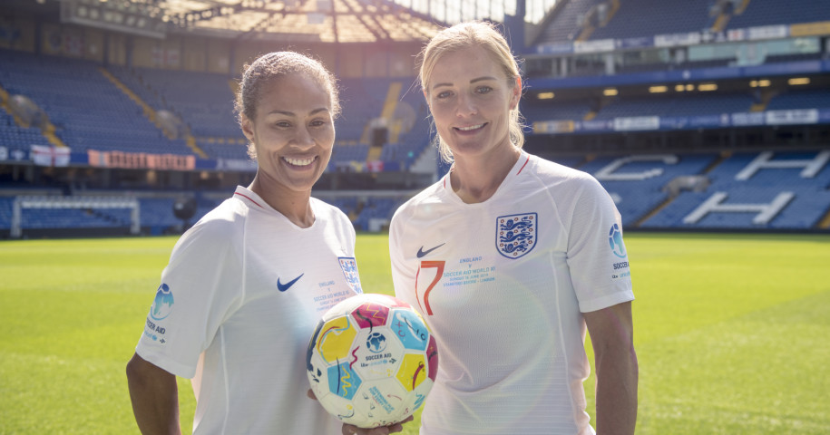 Former England aces Rachel Yankey and Katie Chapman to star in Soccer Aid for Unicef 2019