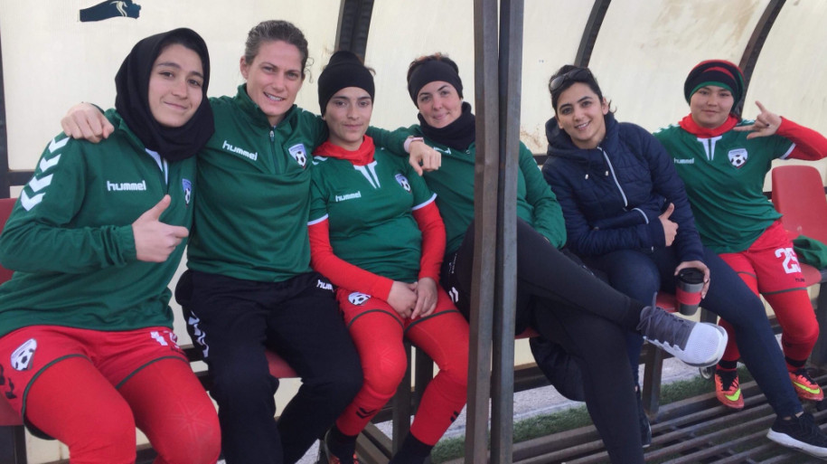WFS 2019 rewards the Afghan national women's team for their bravery
