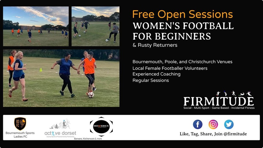 #WhatIf there were free open sessions for women who wanted to play football?
