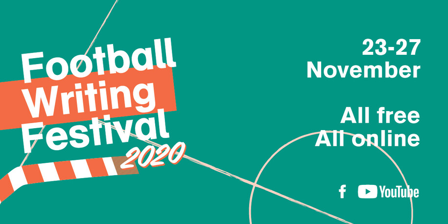 Free online football writing festival kicks-off on 23 November