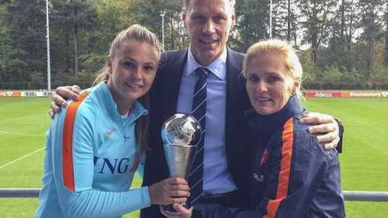 Double Dutch delight as Martens and Wiegman honoured by Fifa