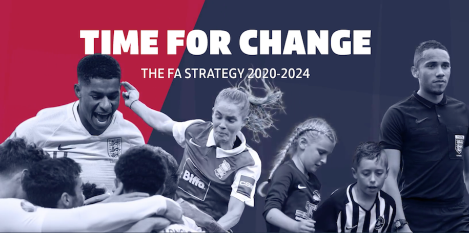"The FA's 2020-2024 strategy aims to ""bring all parts of the game even closer together"""
